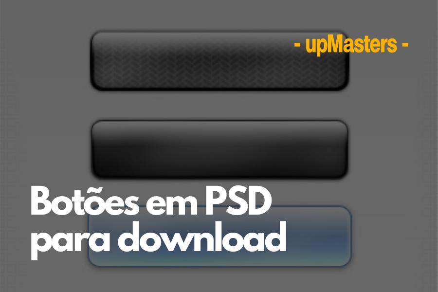 botoes - Botões em PSD para download