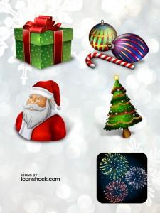 dec icons preview 225x300 - Ícones de Natal