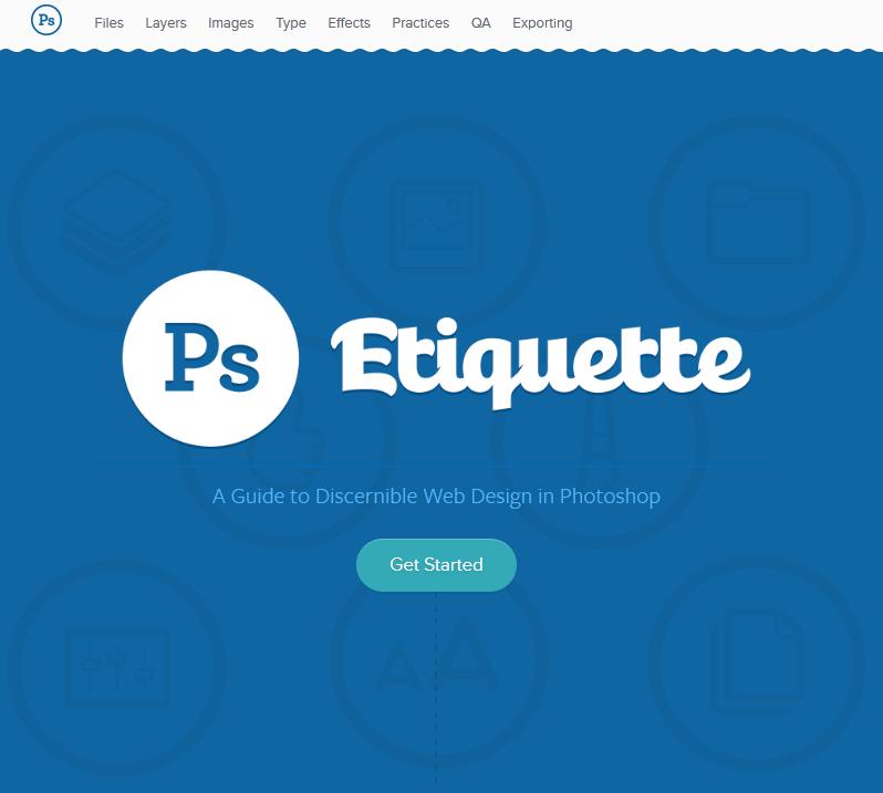 ps1 - PS Etiquette - Um guia para web design diferenciado utilizando o Photoshop