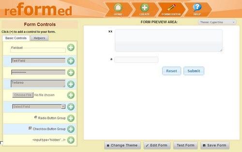 001online web form builder and generator 3 - 5 Ferramentas grátis para gerar seus formulários de forma simples