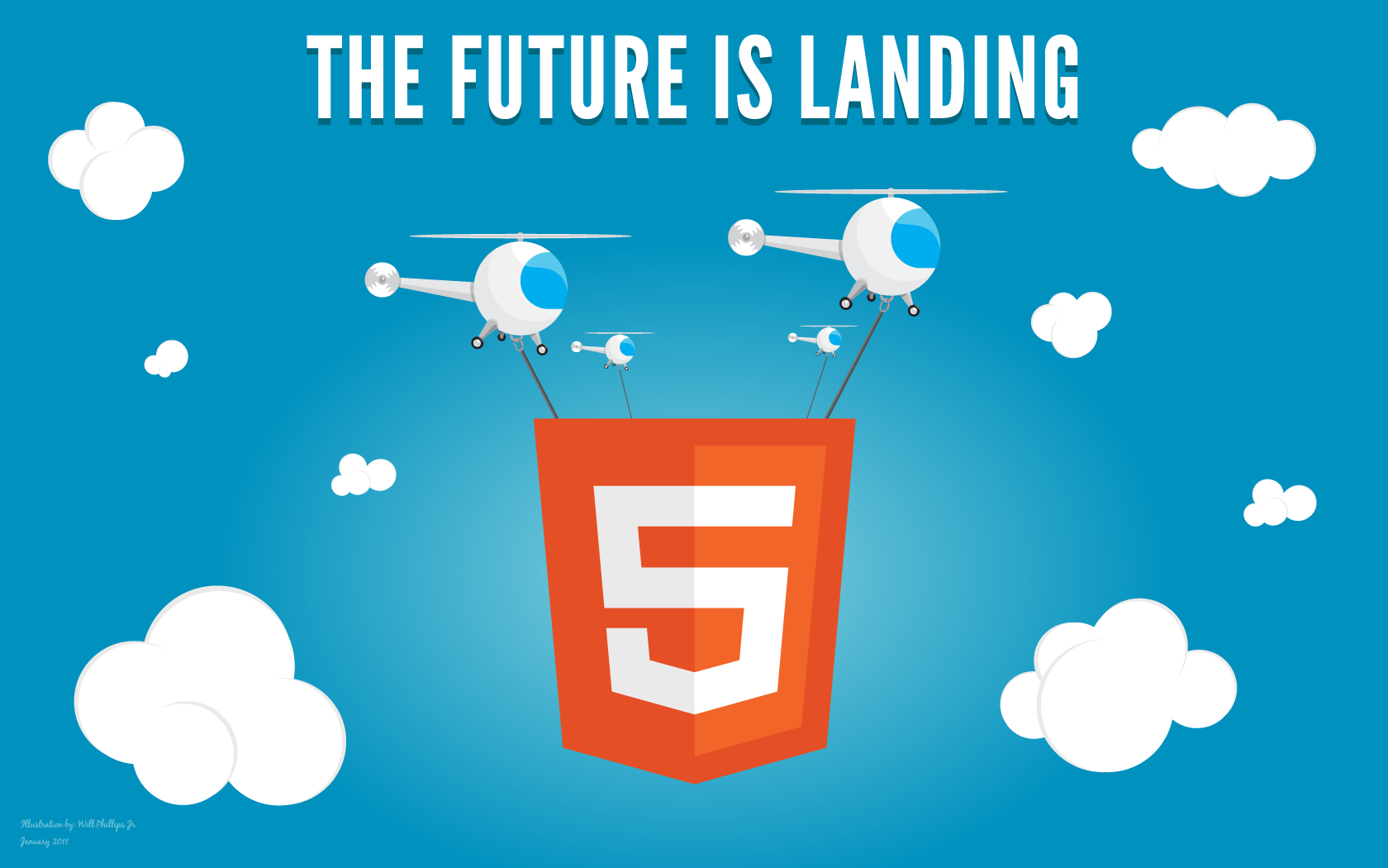 HTML5 Wallpaper 1680x1050 - Conheça finalmente as tags HTML 5 e aplique em seu projeto!