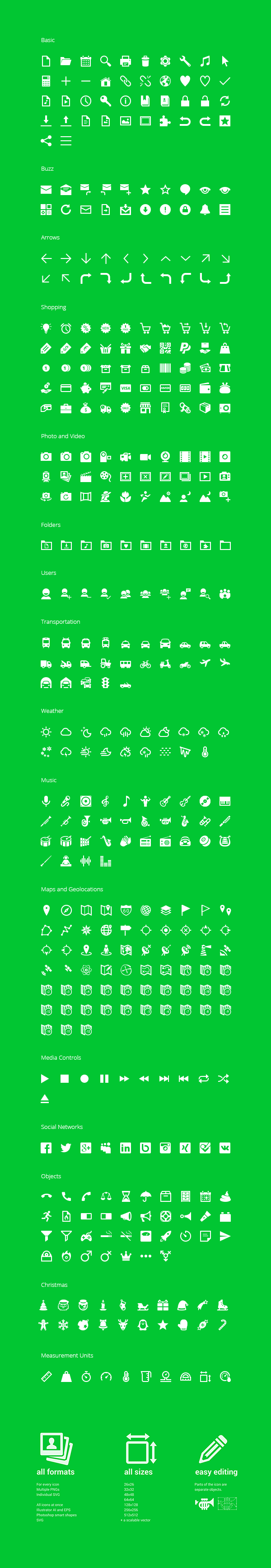 350 Free Android Icons 600 - 350 ícones Android grátis para download!