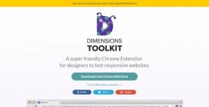 dimension toolkit 300x154 - As mais úteis extensões Chrome para Designers & Developers