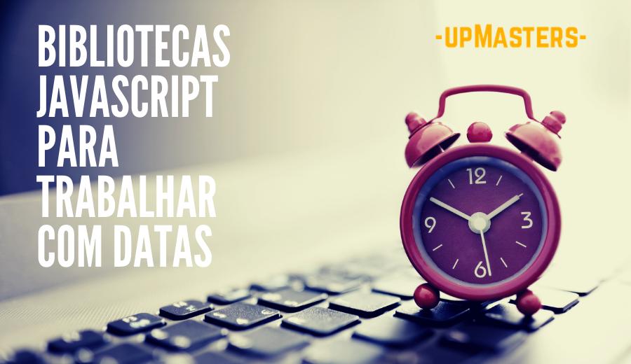 Capa Biblioteca Trabalhar com Datas - 6 bibliotecas para trabalhar com data em JavaScript
