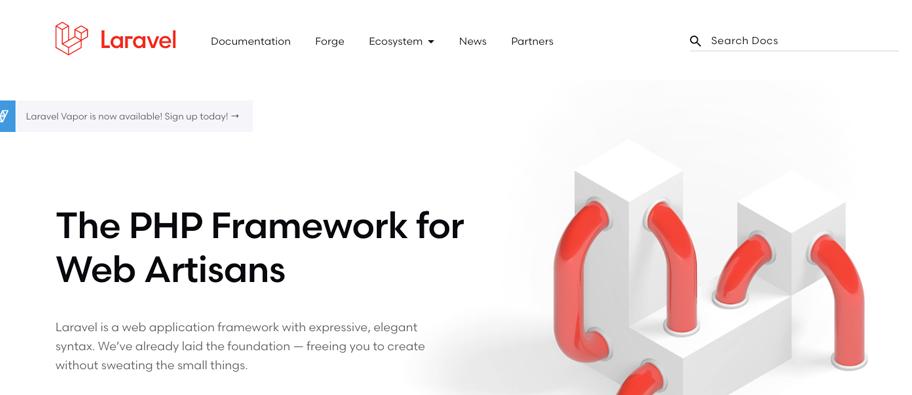 laravel - 7 melhores PHP Framework de 2021