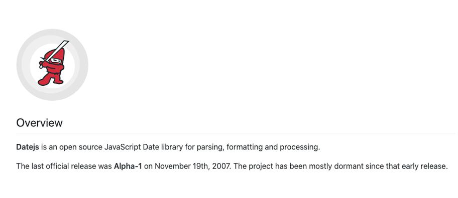 site content print example - 7 bibliotecas para trabalhar com data em JavaScript