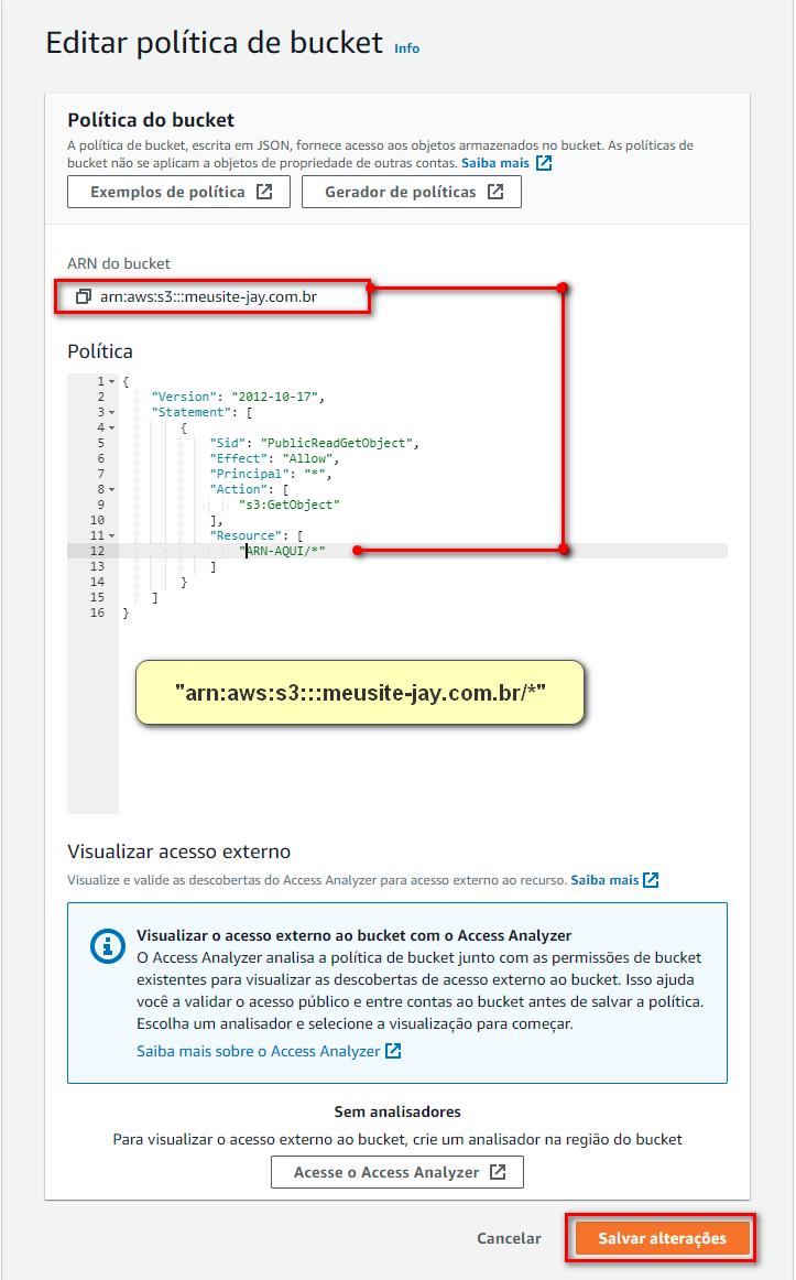 Hospedando um site estatico na AWS S3 008 - Hospedagem grátis com AWS Bucket S3