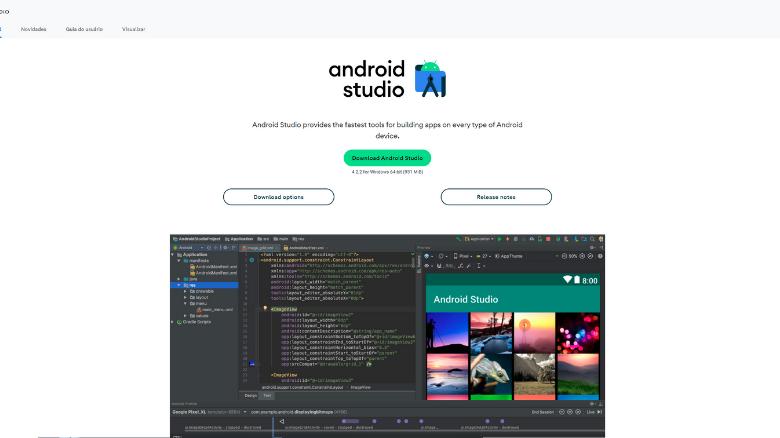 top lista das melhores ferramentas para desenvolvimento android studio - Top 11 das melhores ferramentas utilizadas para desenvolvimento